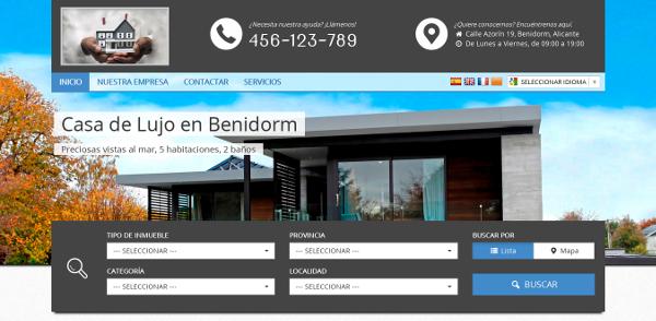 Crea tu propia web personalizada con CasaToc