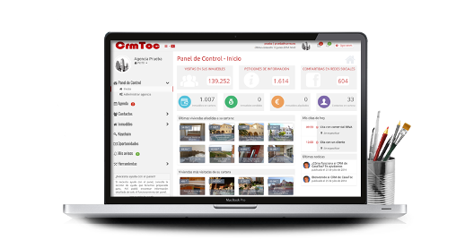 CRM Inmobiliario: gestiona tu cartera de inmuebles