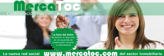 MercaToc, la primera red social para profesionales inmobiliarios