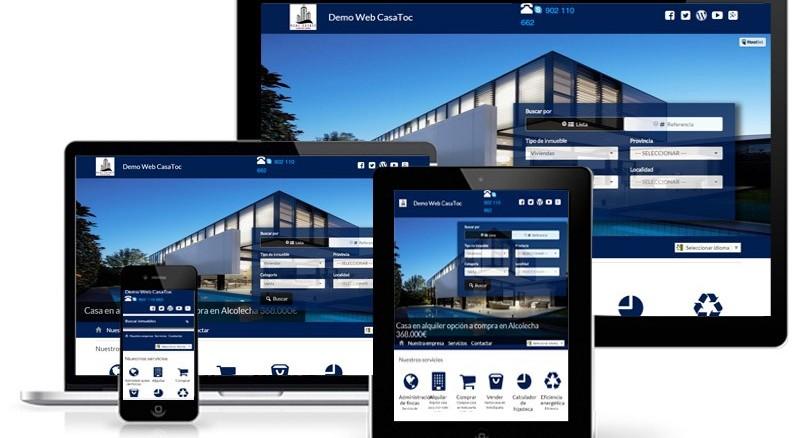 Una Web Inmobiliaria para todos los dispositivos